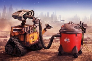 Wall E HD Background for Android, iPhone and iPad