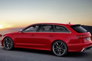 Audi A6 Avant Background for Android, iPhone and iPad