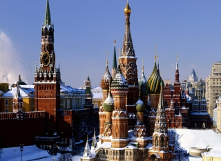 Red Square Russia Wallpaper for Android, iPhone and iPad