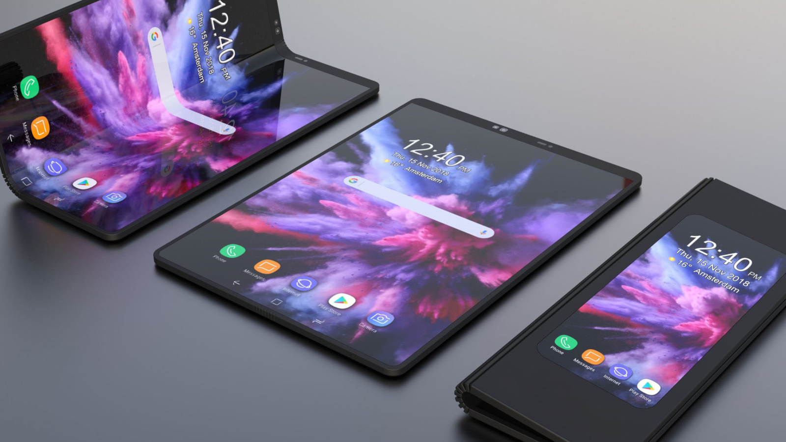 Samsung Galaxy Fold screenshot #1 1600x900