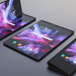 Samsung Galaxy Fold Picture for iPad 3