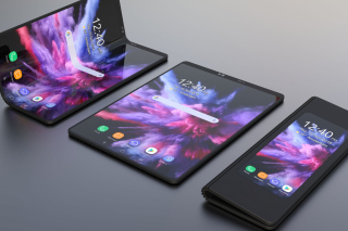 Samsung Galaxy Fold Wallpaper for Android, iPhone and iPad