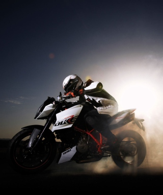 Ktm 990 Super Duke Background for 128x160
