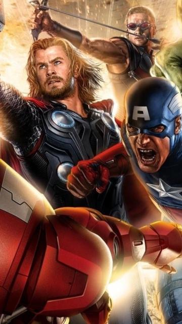 Avengers 2014 for Nokia N8