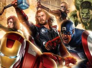 Avengers 2014 Background for Android, iPhone and iPad