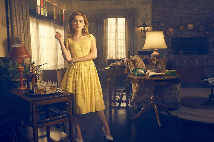 Sfondi Kiernan Shipka in Feud TV series
