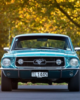 Ford Mustang First Generation Background for iPhone 6 Plus