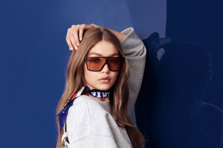 Gigi Hadid Tommy Hilfiger Spring Wallpaper for Android, iPhone and iPad