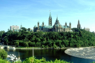 Free Ottawa Canada Parliament Picture for Android, iPhone and iPad