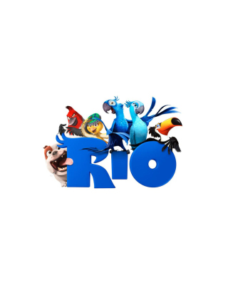 Poster Of The Cartoon Rio Picture for Nokia C1-01