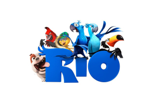 Poster Of The Cartoon Rio - Obrázkek zdarma