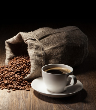 Still Life With Coffee Beans Background for Nokia C1-01