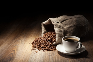 Still Life With Coffee Beans Wallpaper for Android, iPhone and iPad