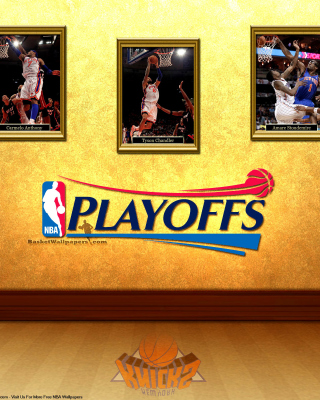 New York Knicks NBA Playoffs Background for iPhone 7 Plus