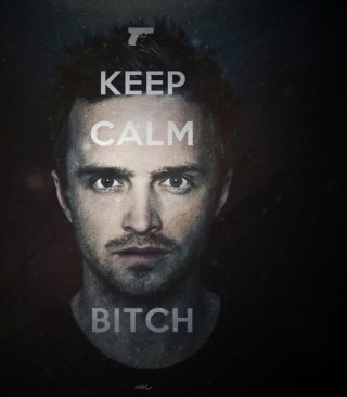 Keep Calm And Watch Breaking Bad papel de parede para celular para iPhone 4S