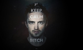 Keep Calm And Watch Breaking Bad - Obrázkek zdarma pro 1366x768