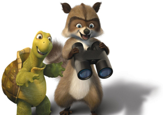 Over the Hedge 2 - Obrázkek zdarma pro Widescreen Desktop PC 1600x900