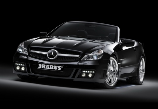 Brabus Sl Sv 12 S Background for Android, iPhone and iPad