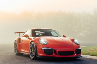 Porsche 911 GT3 RS Background for Samsung Galaxy Note 2 N7100