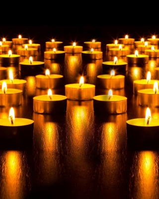 Candles Background for Nokia C1-01