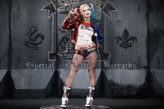 Suicide Squad, Harley Quinn, Margot Robbie Poster Background for Android, iPhone and iPad