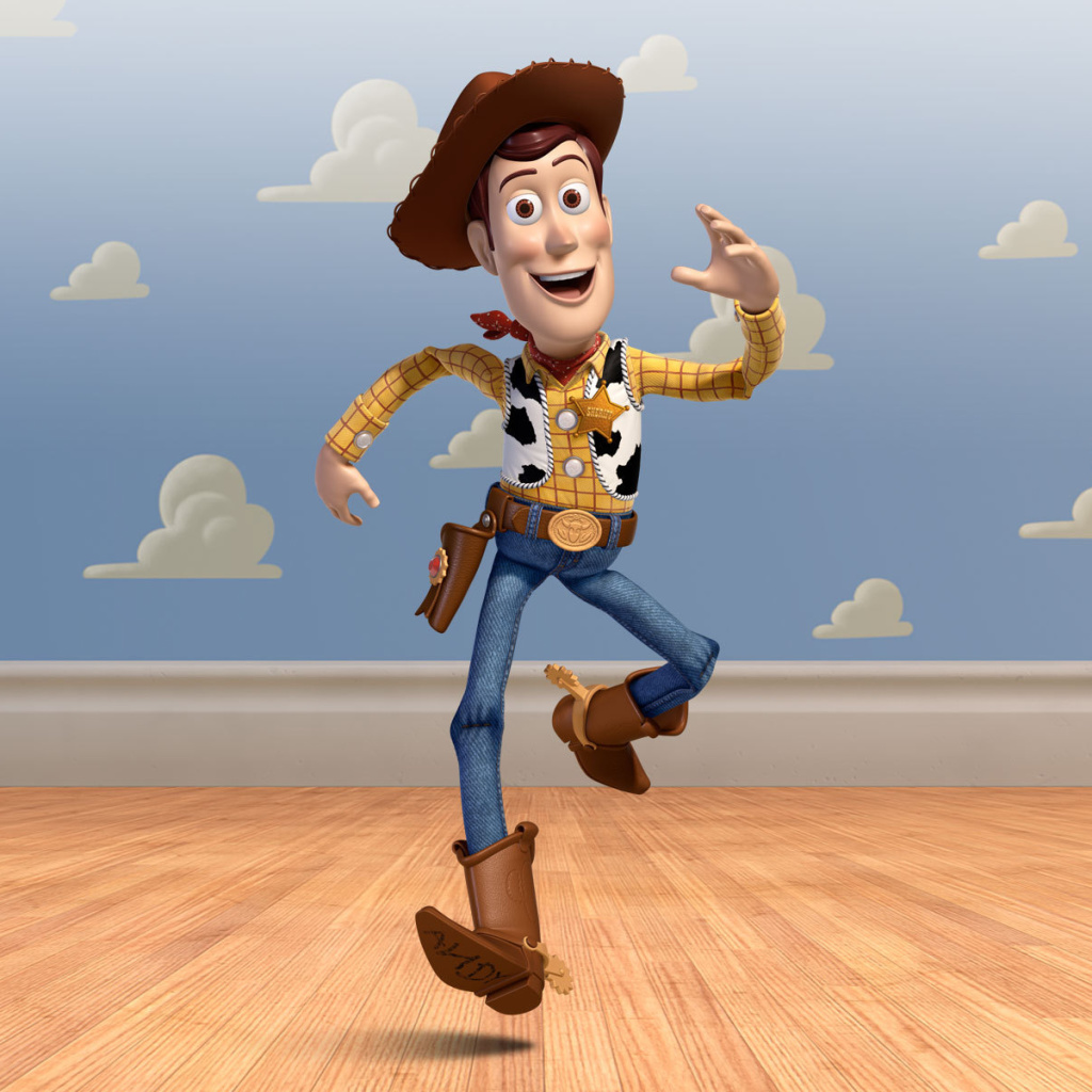 Screenshot №1 pro téma Cowboy Woody in Toy Story 3 1024x1024