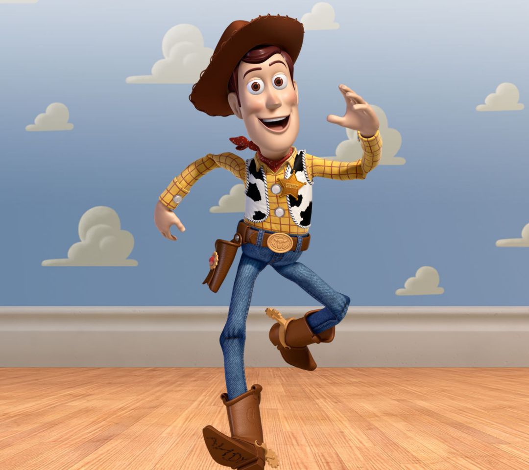 Screenshot №1 pro téma Cowboy Woody in Toy Story 3 1080x960