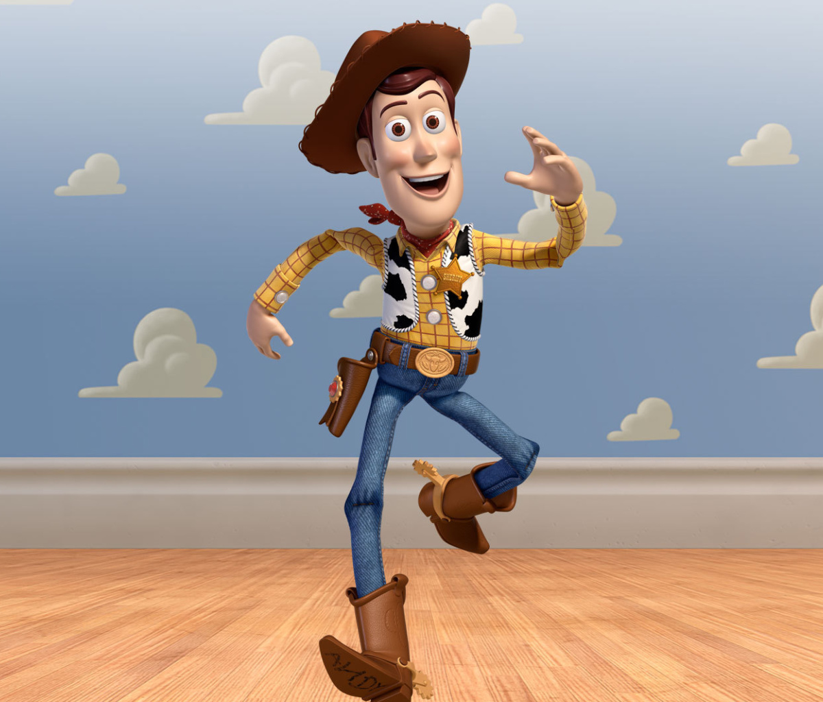 Screenshot №1 pro téma Cowboy Woody in Toy Story 3 1200x1024