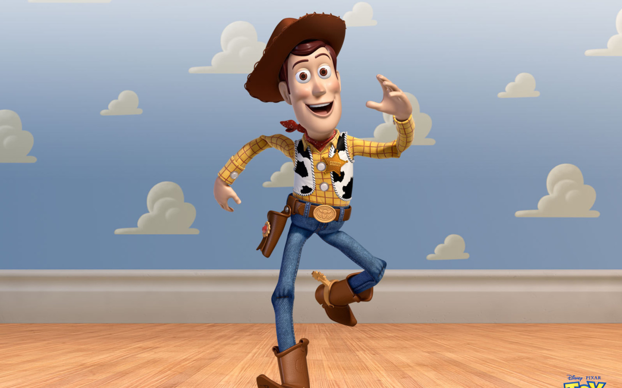 Screenshot №1 pro téma Cowboy Woody in Toy Story 3 1280x800