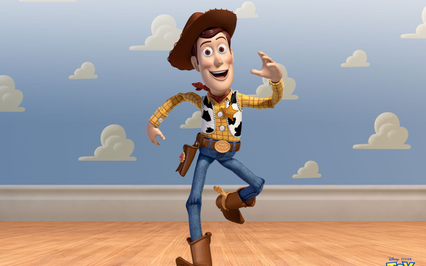 Screenshot №1 pro téma Cowboy Woody in Toy Story 3 1440x900