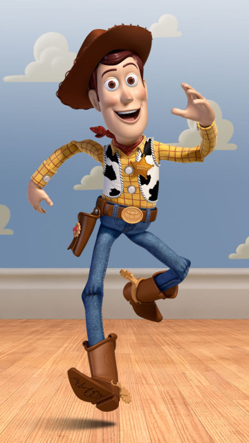 Screenshot №1 pro téma Cowboy Woody in Toy Story 3 360x640