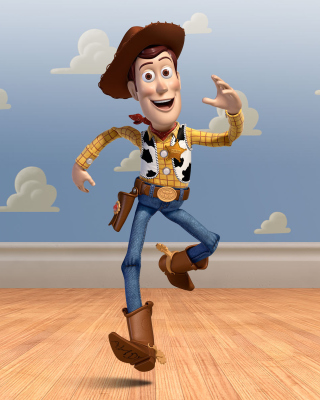 Cowboy Woody in Toy Story 3 sfondi gratuiti per iPhone 4S