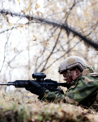 Norwegian Army Soldier Picture for iPhone 6