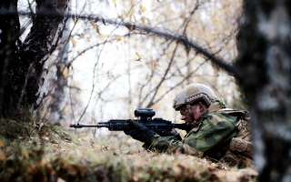 Norwegian Army Soldier Wallpaper for Android, iPhone and iPad