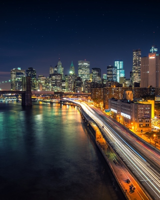 Manhattan Nights - Fondos de pantalla gratis para HTC Pure