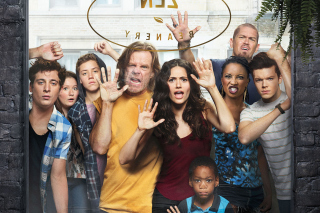 Shameless Gallagher Family sfondi gratuiti per Samsung Galaxy Note 2 N7100