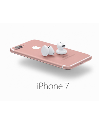 Apple iPhone 7 32GB Pink Background for 480x800