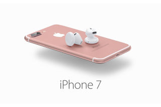 Apple iPhone 7 32GB Pink sfondi gratuiti per Samsung Galaxy Note 2 N7100