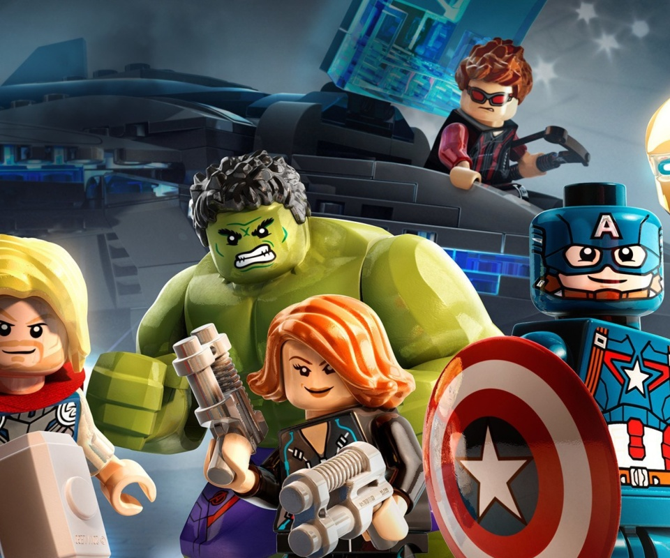 Lego Marvels Avengers wallpaper 960x800
