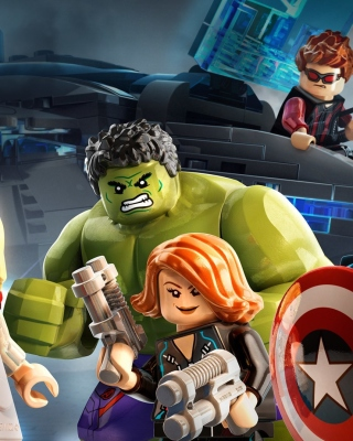 Lego Marvels Avengers Wallpaper for iPhone 5