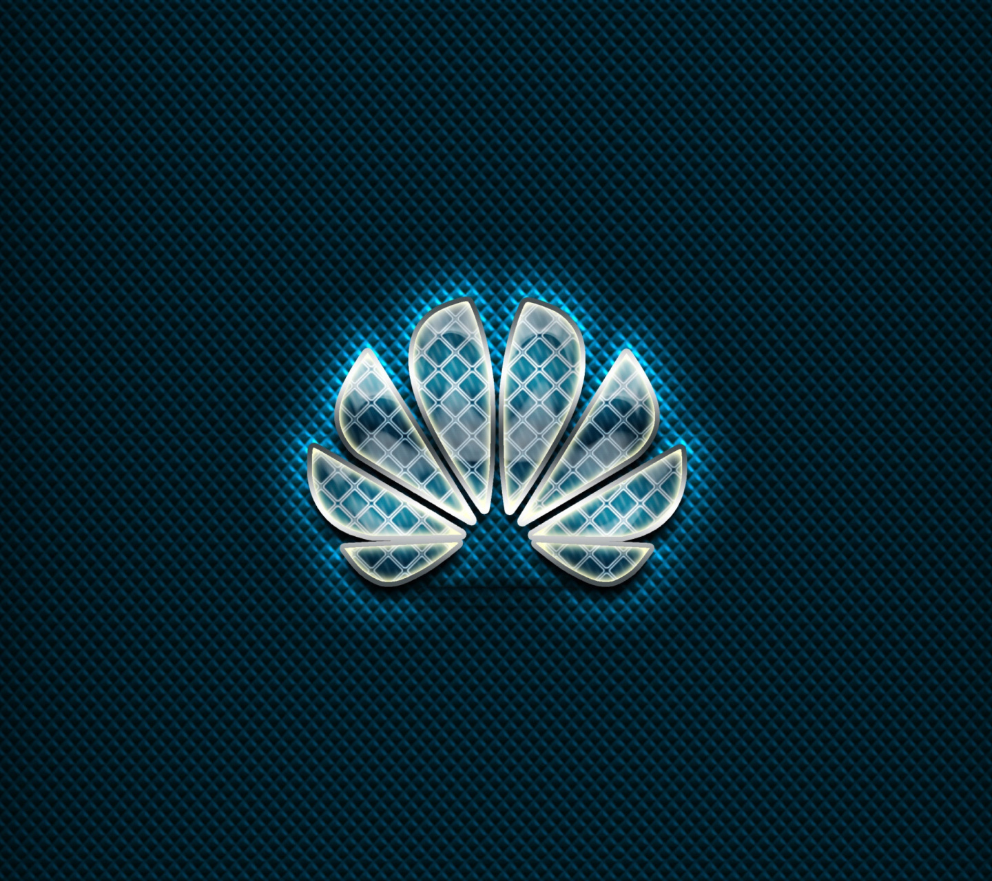 Huawei Blue Logo wallpaper 1440x1280