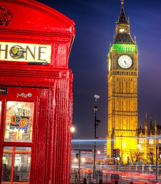 Big Ben sfondi gratuiti per iPhone 4S