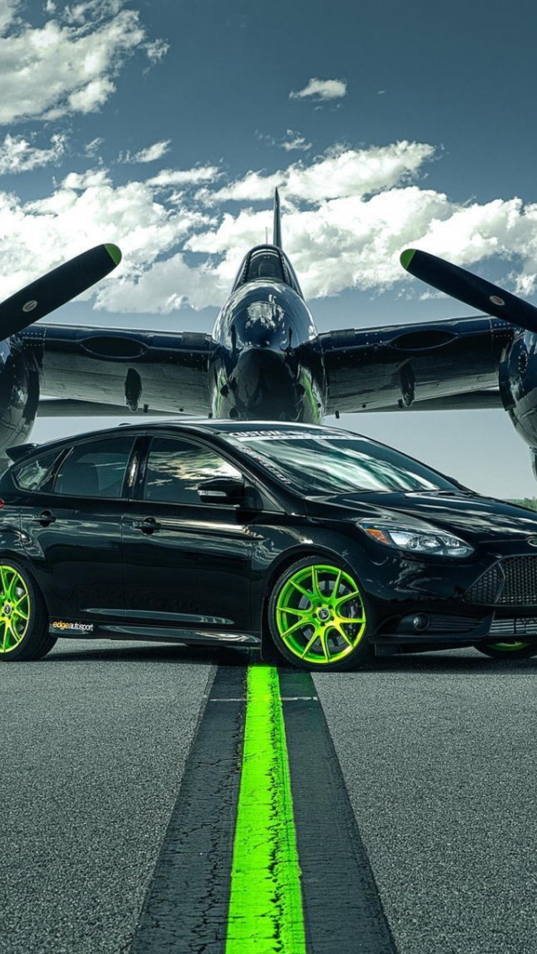 Screenshot №1 pro téma Ford Focus ST with Jet 1080x1920
