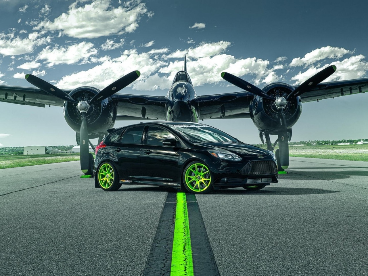 Das Ford Focus ST with Jet Wallpaper 1280x960