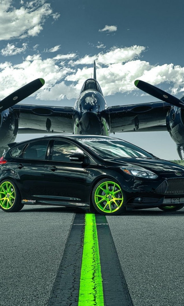 Sfondi Ford Focus ST with Jet 768x1280