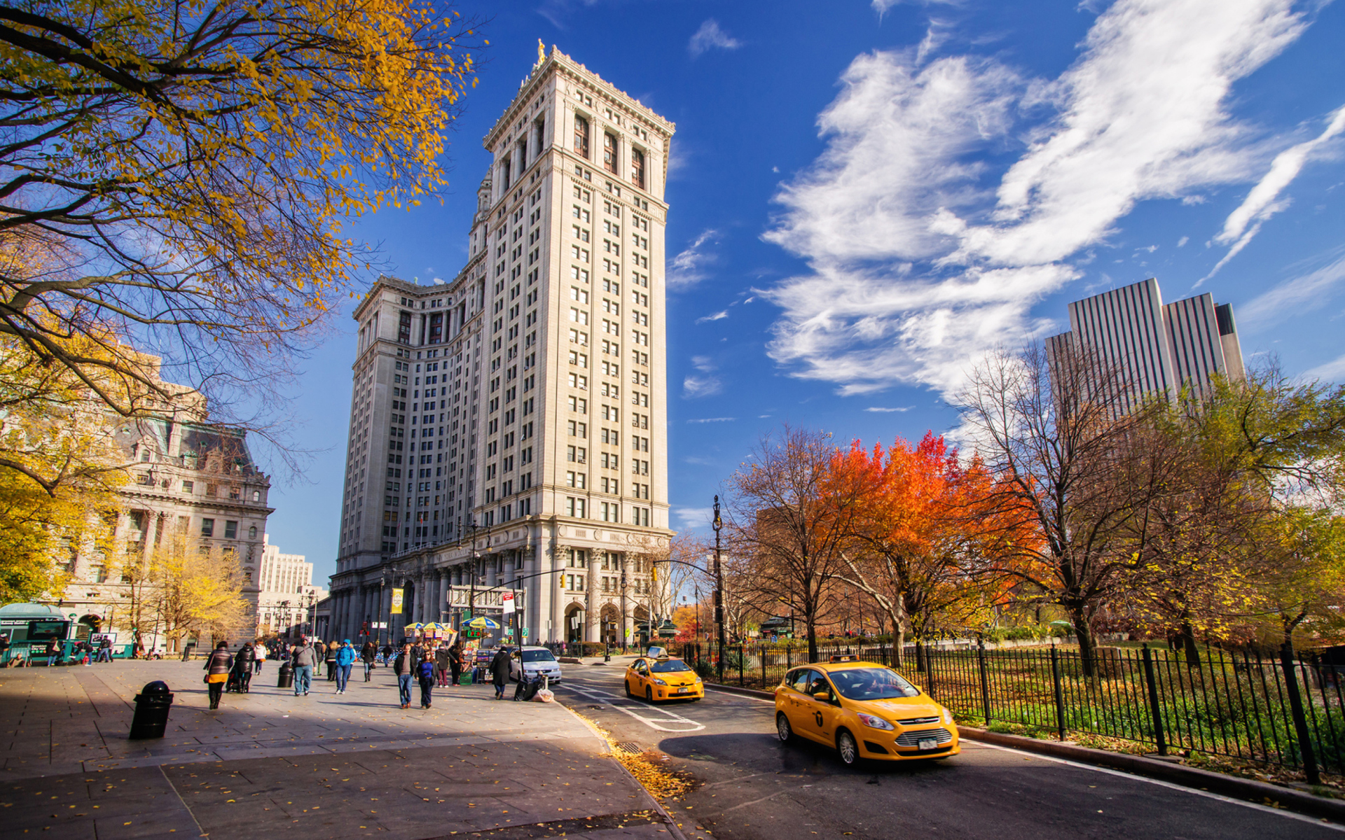 Manhattan, New York City para Widescreen Desktop PC 1920x1080 Full HD