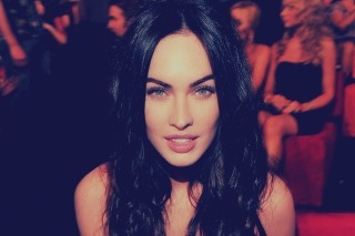 Megan Fox Portrait Background for Android, iPhone and iPad