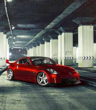 Nissan 370Z Wallpaper for Nokia Asha 311