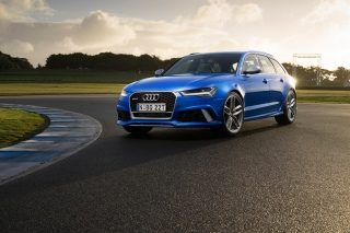 Audi RS 6 Background for Android, iPhone and iPad
