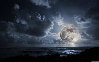 Fantastic Moon Wallpaper for Android, iPhone and iPad